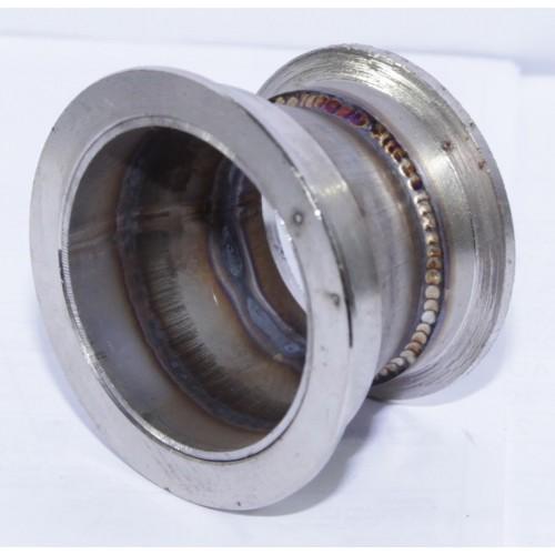 """Steel Adapter fit 2"""" V-Band Flagne TO 2.5"""" V-Band Flange"""