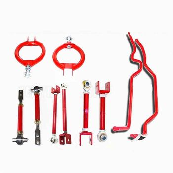 89-94 Nissan 240SX Tension Rod Toe Arm Combo Camber Kit Traction Rods Sway Bar
