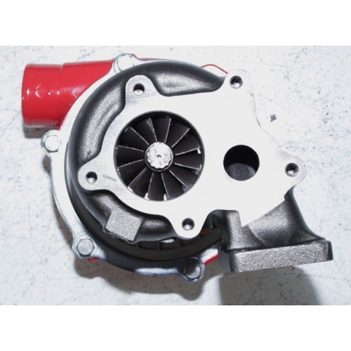 Turbocharger Turbine Wheel Manufacturing Process: EMUSAT3/T4 Hybrid Turbo Charger .50 A/R Compressor .63 A/R