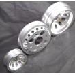 Aluminum SILVER Crank Pulley Set for 02-06 Nissan 350Z/ Infiniti G35