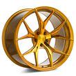 One 20x11 Rohana RFX5 5x114.3 28 Gold Wheel Rim