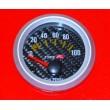 2 1/16 quot; 52MM Universal Oil Pressure Gauge Carbon Fiber