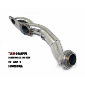 "2005/2006/2007/2008/2009/2010 Scion TC Xb Turbo Downpipe 2.5"" w DumpTube 2AZFE"