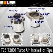 Air intake hot pipe for Turbo T25 T28 GT28 GT2860