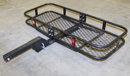 truck receiver hitch mounted cargo carrier rack traile luggage - Cargo Carrier Hitch