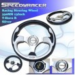 RSX K20 EP3 DC5 DC3 Si Racing Steering Wheel Universal
