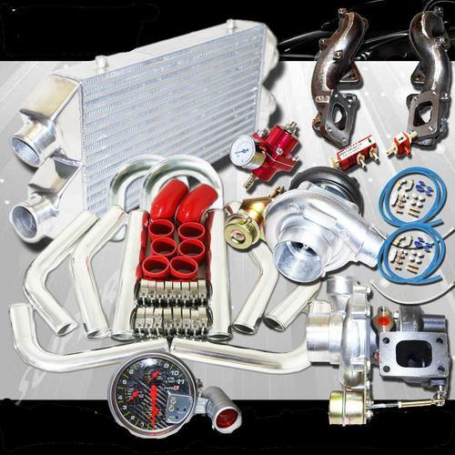 300zx Twin Turbo Motor: Two GT28 Turbo Kits For 90-96 Nissan 300ZX VG30DETT Z32