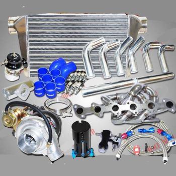 Turbo Kits w/SS Manifold for BMW M3 323 325 328 E30 I6 SOHC T3 M20 2.5L/2.7L