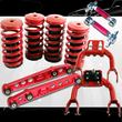 1992-1995 Honda Civic Scaled Lowering Coilover Springs+F amp;RCamber+Rear Lower Control