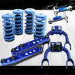 1992-1995 Civic Scaled Lowering Coilover Springs+F amp;RCamber+Rear Lower Control