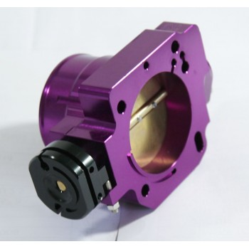 68MM Aluminum Throttle Body Purple for 88-00 Honda Civic D Series ONLY EF EG EK