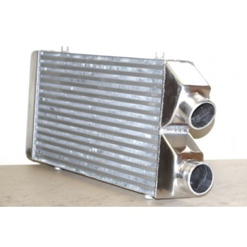 "UNIVERSAL INTERCOOLER 27""X11""X3"" SAME SIDE 2.5"" INLET AND OUTLET"