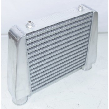 """DIY Intercooler 17x11x2.75 2.5"""" Inlet&Outlet ONE SIDE"""