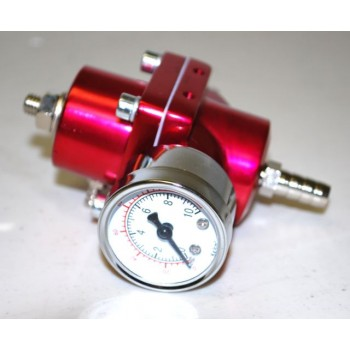 Universal Fuel Pressure Regulator w/Gauge and 255L Fuel Pump