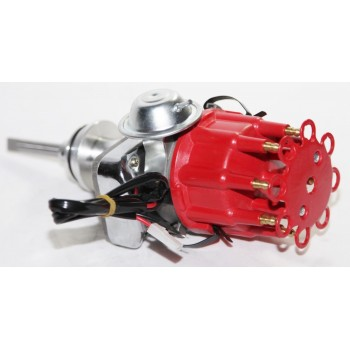 RED Cap Ignition Distributor fit Dodge Chrysler Plymouth RB V8 413 426 PE342