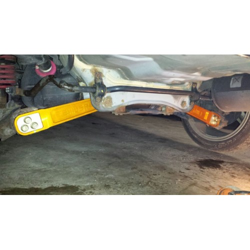 Polyurethane Suspension Bushings >> Rear Lower Control Arms for 02-06 Acura RSX 03-10 Honda Element