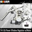 94-04 Mustang Front Left+Right Power Window Regulator With Motor for Base Coupe 2D