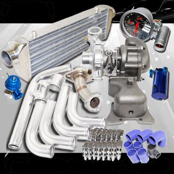 TB28 Turbo+Manifold+Intercooler+Pipings fits 2006 2007 2008 2009 2010 2011 Honda Civic R18 EX DX 1.8L