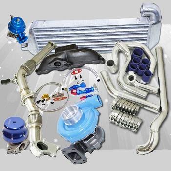T3/T4 Turbo Kits elbow+Downpipe+Manifold 02-05 Civic Si/TypeR 2.0 K20AEp3