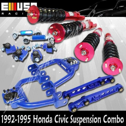 Aliexpress Com Buy Coilover Suspension Kits For Honda: Honda Civic 92-95 Coilover Suspension Lower Kits Camber