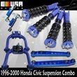 Honda Civic 96-00 Full Coilover Suspension NON adj.Camber Kits COMBO