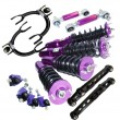 88 89 90 91 Honda Civic Coilover +F amp;R Camber+Front Upper Arm+Lower Control Arm
