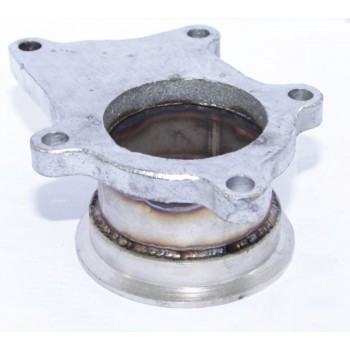 "Steel Adaptor for T3/T4 5Bolt to 2.5"" V-Band Flange"