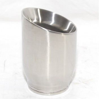 1 Piece Stainless Steel Exhaust Tip for 05-10 Cadillac STS V8 ONLY