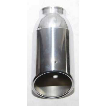 1 Piece Stainless Steel Exhaust Tip for 09-15 Lincoln MKS D385