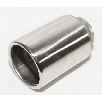 1 Piece Stainless Steel Exhaust Tip for Peugeot Citroen 206 208
