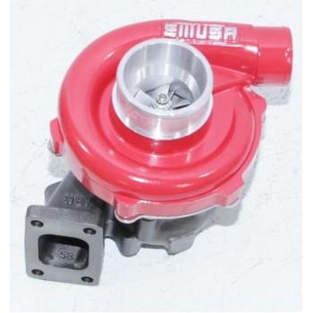 EMUSAT3/T4 Hybrid Turbo Turbocharger .50 A/R Compressor .63 A/R Turbine Wheel