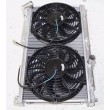 RADIATOR+12 quot; Fan+Shroud for 93-97 Mazda RX-7 FD3S Manual Transmission ONLY