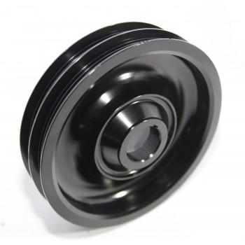Aluminum Performance Black Crank Pulley for 97-01 CR-V 88-91 CRX B