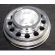 Aluminum Performance SILVER Crank Pulley for 92-95 Civic SOHC D15D16