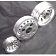 Aluminum SILVER Crank Pulley Set for 02-06 Nissan 350Z/ Infiniti G35