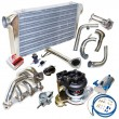 240sx KA24 MANIFOLD + Bolt On Intercooler kits+ Elbow+Downpipe + GT30 Turbo Kits