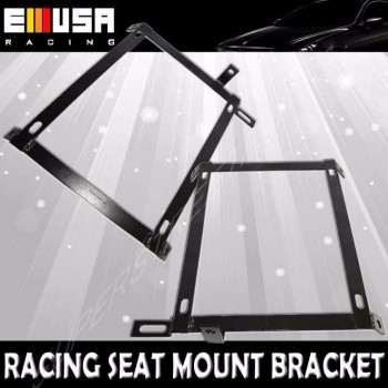 One Pair Right and Left Side Racing Seat Bracket for 92-95 Honda Civic EG EH EJ 2D Coupe/3D Hatchback/4D