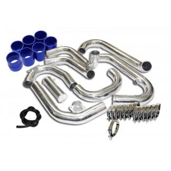 FMIC Turbo Intercooler Piping+Silicones+Clamps for 08-11 Subaru Impreza WRX 2.5T