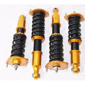 Coilover Suspension Set GOLD FOR 90-97 Mazda Miata Base Convertible 2D