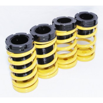 90-99 Mitsubishi Eclipse 90-98 Talon Coilover Lowering Coil Springs Set YELLOW