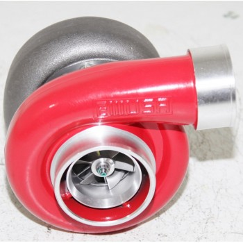 """RED EMUSA GT45 Turbo/Turbocharger 600+HP Boost Universal T4/T66 3.5"""" V-Band 1.05"""