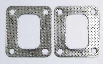 2 PCS Universal T4 Gasket Turbos 60-1/ 62-1/ T04R/ T04Z/ T66/ T67/ T70