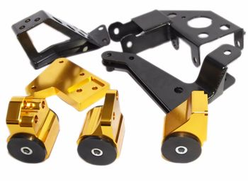 GOLD Engine Motor Mount Kit fits 94-01 Acura Integra/ 92-95 Honda Civic K Series
