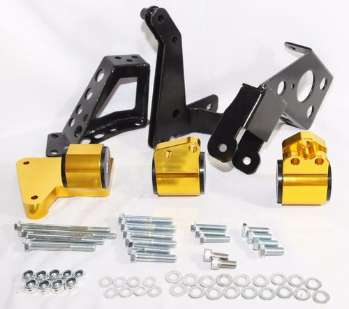 GOLD Engine Motor Mount Kit Fits 94-01 Acura Integra/ 92