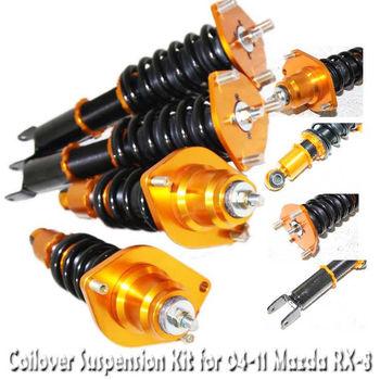 Coilover Suspension Kit GOLD for 04-11 Mazda RX8 RX-8