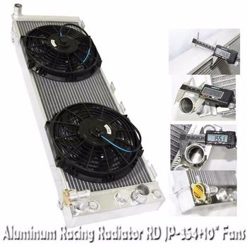 "3 Core Performance RADIATOR+10"" Fans for 91-01 Jeep Cherokee 4.0L I6 OHV"