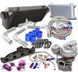 K04-015 Turbo Kits+Oil Cooler Kit for 02-05 Audi A4 1.8T B6 FMIC Upgrade
