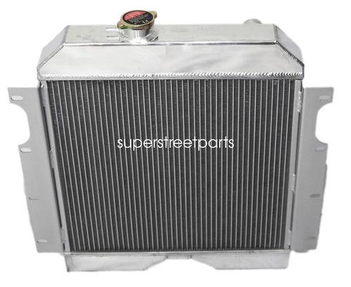 "3Row Performance RADIATOR+16/"" Fan for 56-64 Jeep Utility Wagon//6-226 3.7L L-head"