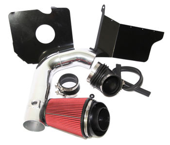 RED Cold Air Intake Kit+Heat Shield for 04-05 Chevy Silverado 2500HD DSL LLY