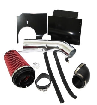 RED Cold Air Intake Kit+Heat Shield for 99-06 Chevy Silverado 1500/1500HD